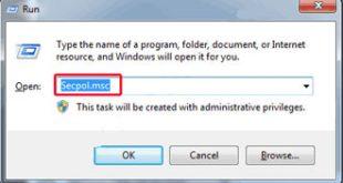 قفل کردن ویندوز7