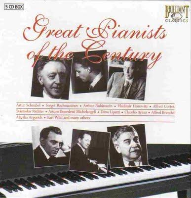 خرید اینترنتی مجموعه بی نظیر از پیانیستهای مشهور قرن 20