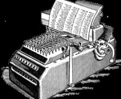 ماشین محاسبه گر در سال ۱۹۱۴