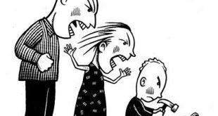 تاثیر خشونت در خانواده ها