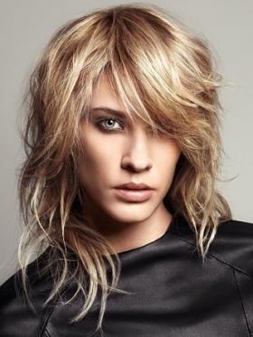 مدل مو و رنگ مو ی مناسب برای صورت های مختلف