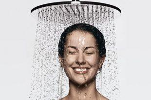 دوش آب سرد