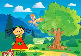 آواز خوان - داستان کودکانه دخترک آواز خوان