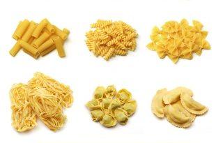 pasta shapes1 310x205 - معرفی انواع پاستا, طرز پخت و نامهای آنها
