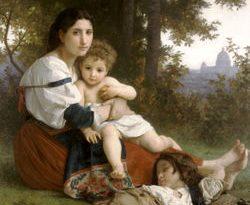 250px William Adolphe Bouguereau 1825 1905   Rest 1879 250x205 - مادر