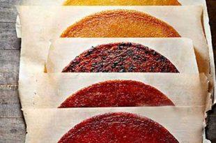 a06016116014102a 310x205 - طرز تهیه لواشک میوه ای برای پاییز و زمستان