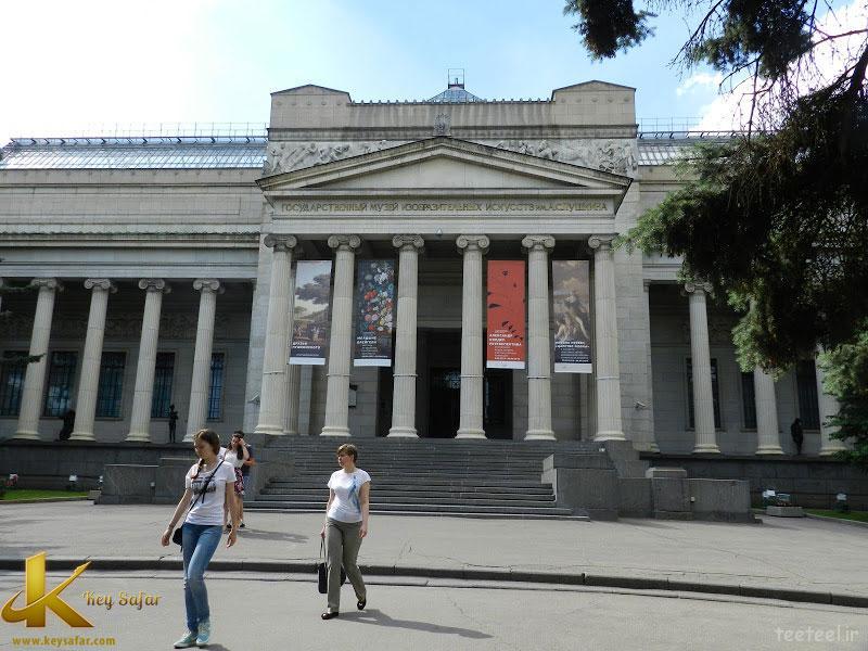 تاریخچه موزه پوشکین