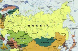 نقشه روسیه