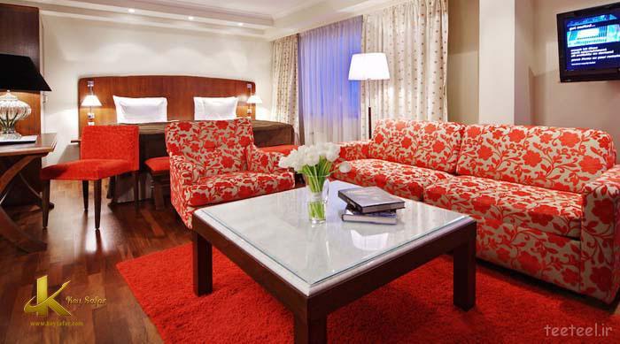 هتلی دنج در منطقه ای سرسبز