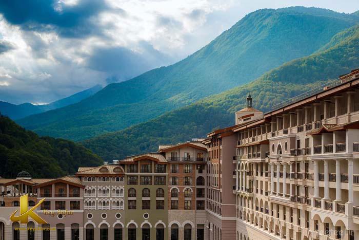 ,هتل پنج ستاره در روسیهتل در سوچی