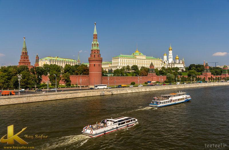 کشتی رانی در مسکو