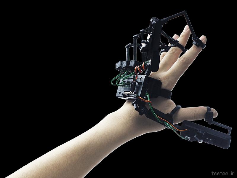 دستکش تایپ مجازی