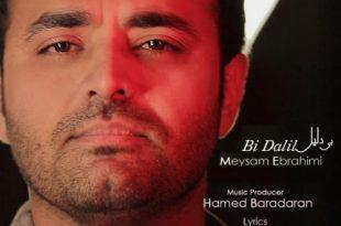 متن آهنگ بی دلیل از میثم ابراهیمی