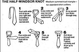 چگونه کراوات ببندیم 2